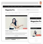Magazine Pro Mobile Responsive-SEO Friendly Web Site Theme
