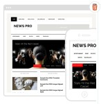 News Pro – A Mobile Responsive – SEO Friendly Web Site Theme