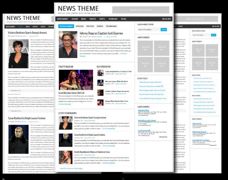 Internet Marketing SEO Friendly News Theme